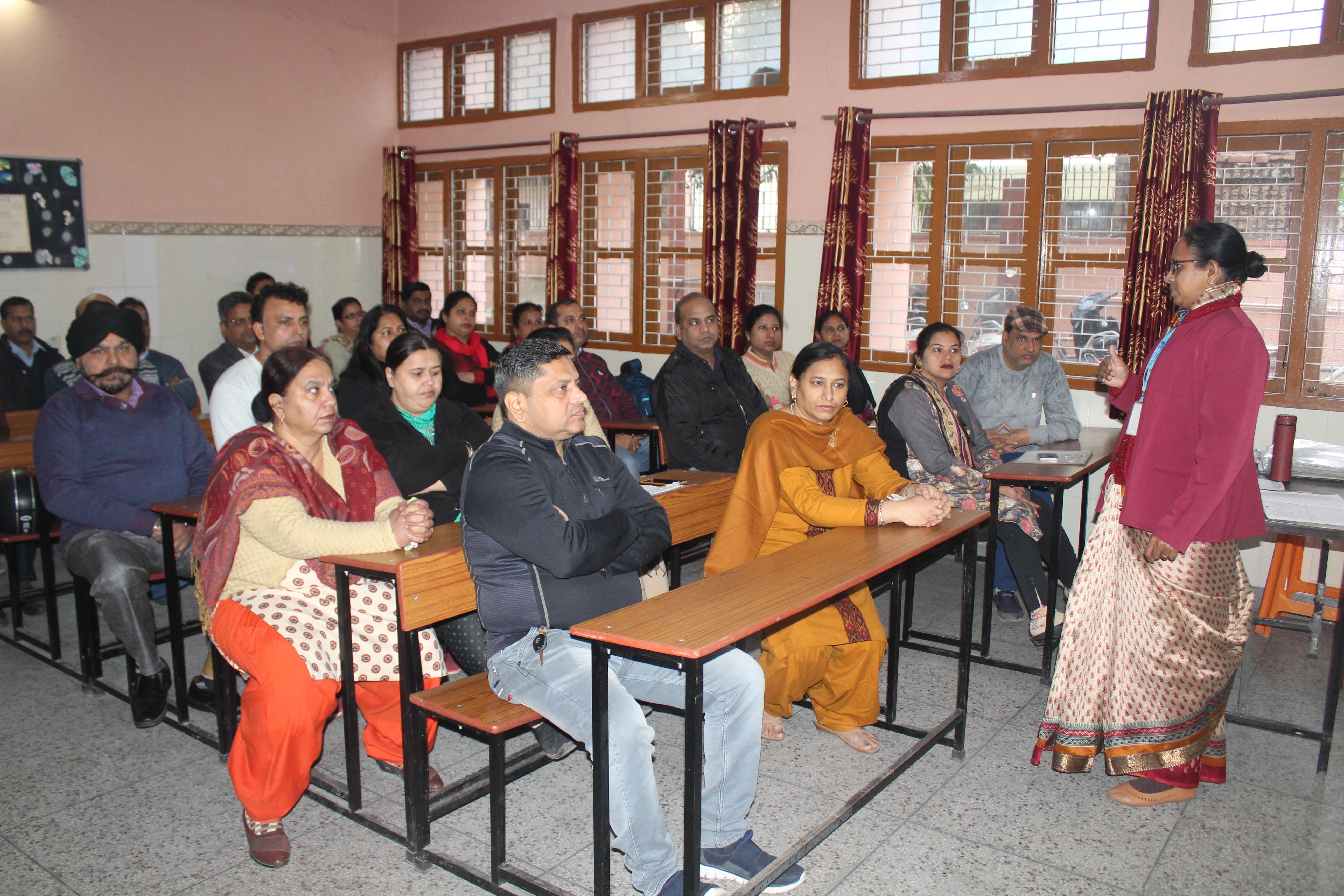 Orientation programme for Parents